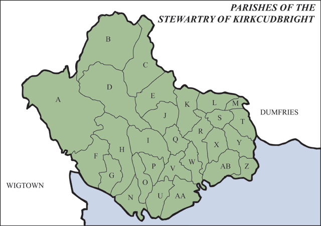 Stewartry Kirks Parishes